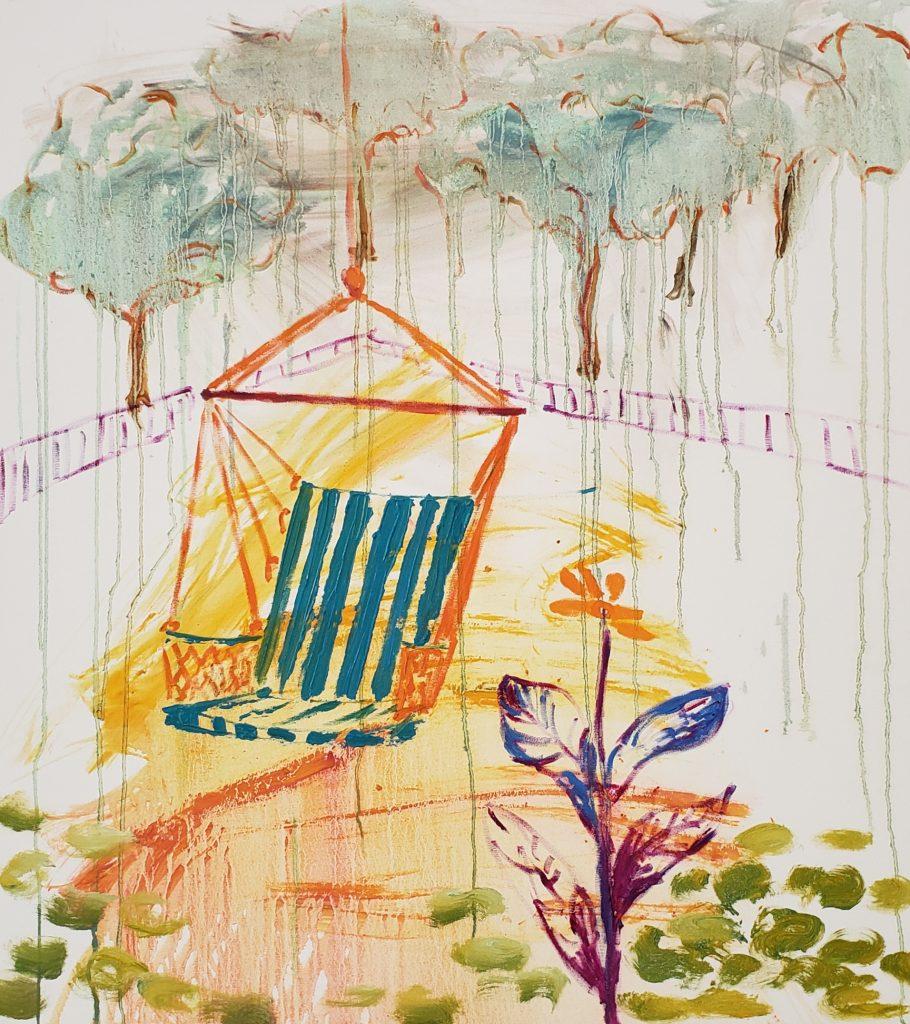 Meditation garden #15